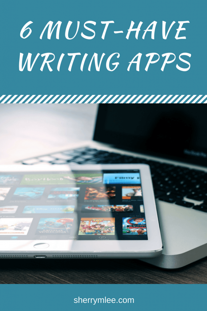 6 Must-Have Writing Apps pin
