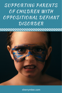 Supporting Parents of Children with Oppositional Defiant Disorder Anyone who has more than one child knows each is unique, complete with his/her own mind, abilities and temperament. Parents of children who've been diagnosed as having Oppositional Defiant Disorder (ODD), some who try to reach out for support from within their communities to find there is little support available. Oppositional defiant disorder strategies; oppositional defiant disorder parenting; odd disorder