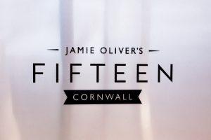 Jamie Oliver restaurant sign - dyslexia