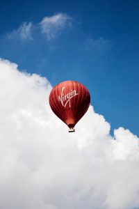 Virgin Group hot air balloon