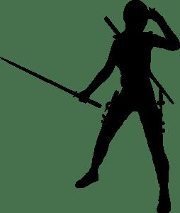 girl ninja detective