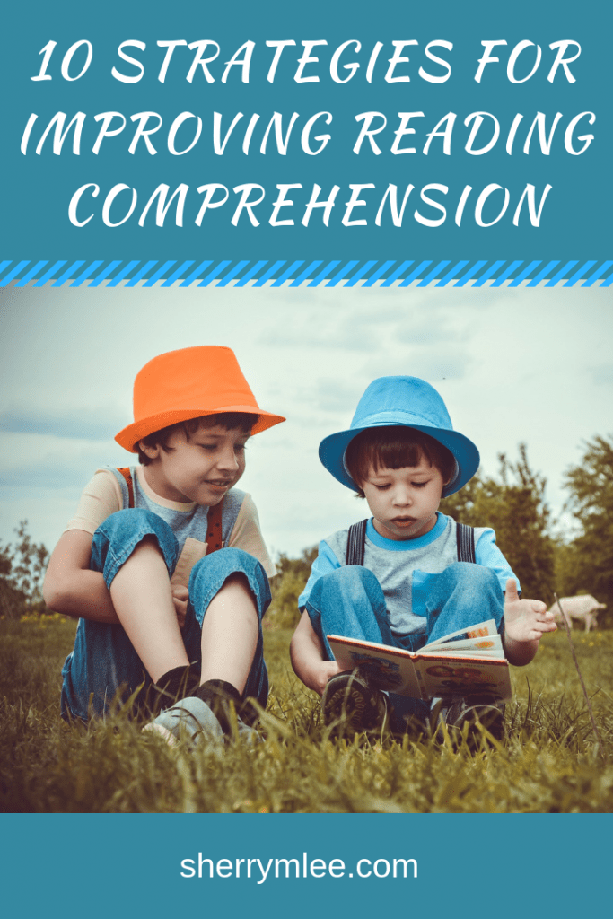 Top 10 strategies for improving reading comprehension; teaching reading comprehension strategies; reading comprehension activities; tips for improving reading comprehension #readingstrategies #readingcomprehension #readingcomprehensionstrategies
