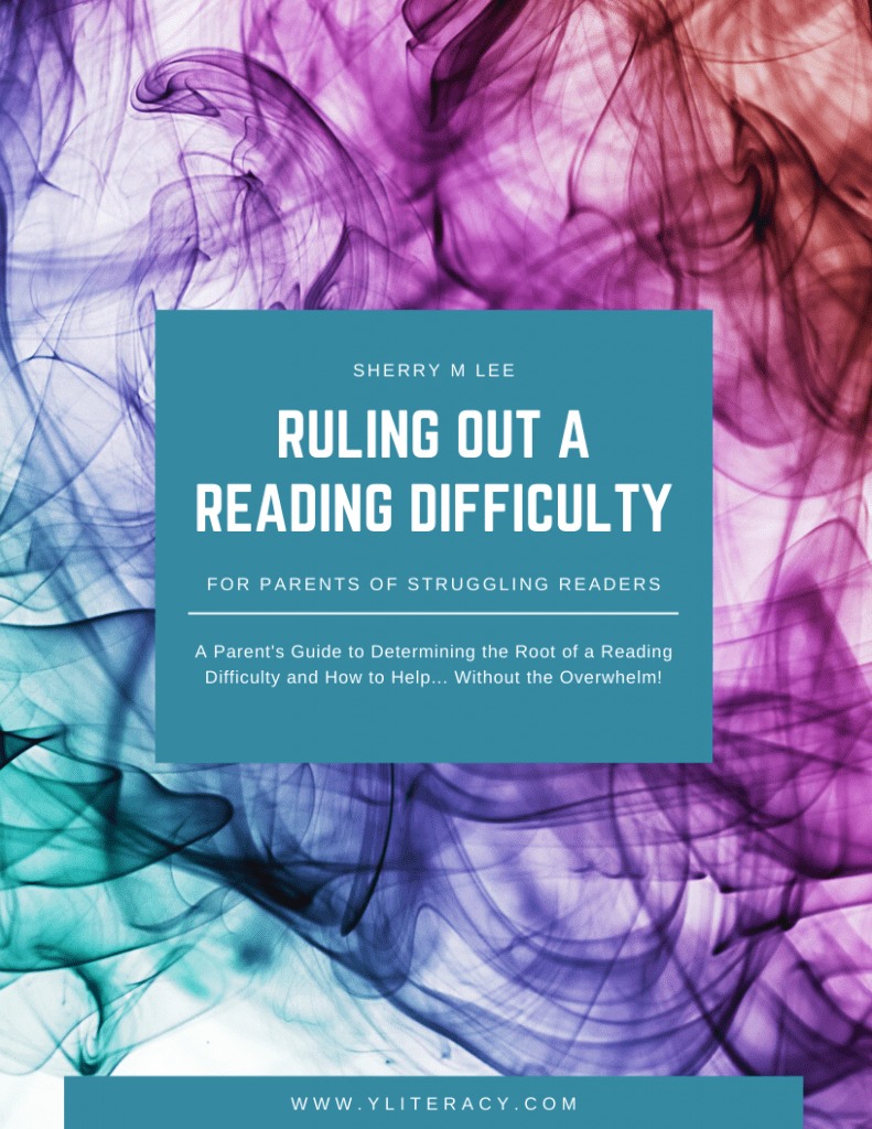 ruling out a reading difficulty eBook image