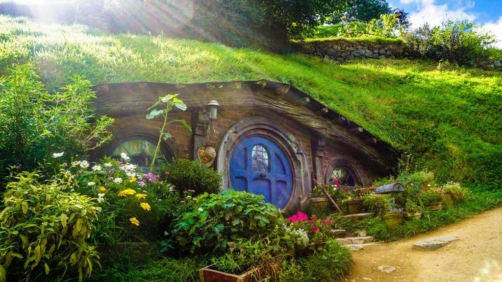 underground fairy tale house