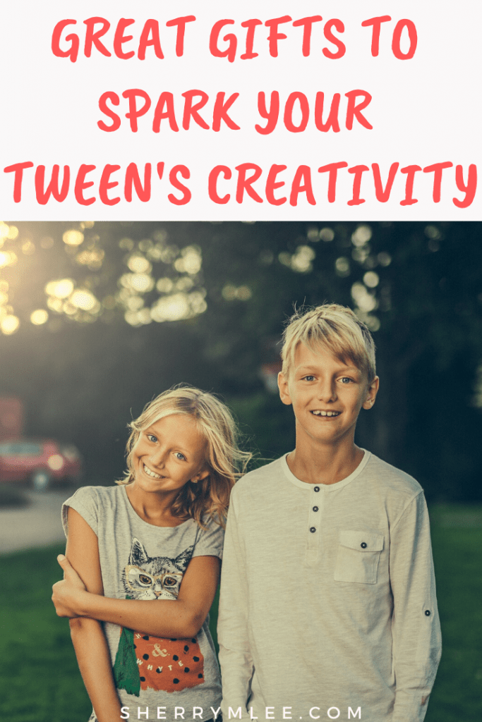 great gifts for creative tweens; great gifts to spark your tween's creativity; gift guide for tweens; gift ideas for tweens; christmas ideas for tweens #tweengiftguide #creativetweens #giftsfortweens