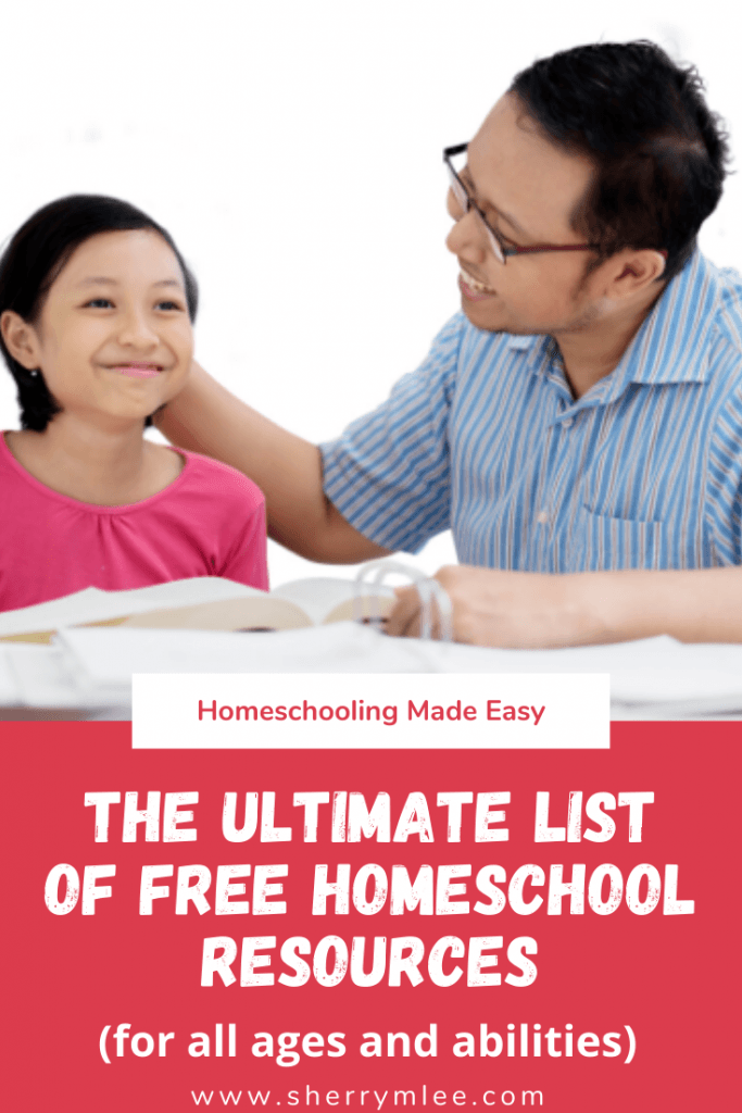 The Ultimate List of Free Homeschooling Resources; free homeschooling printables; free homeschool curriculum; virtual field trips; homeschooling made easy; homeschooling special needs curriculum; Spanish homeschool curriculum; homeschooling for free; French homeschool curriculum #homeschooling #homeschoolcurriculum #homeschoolingmadeeasy