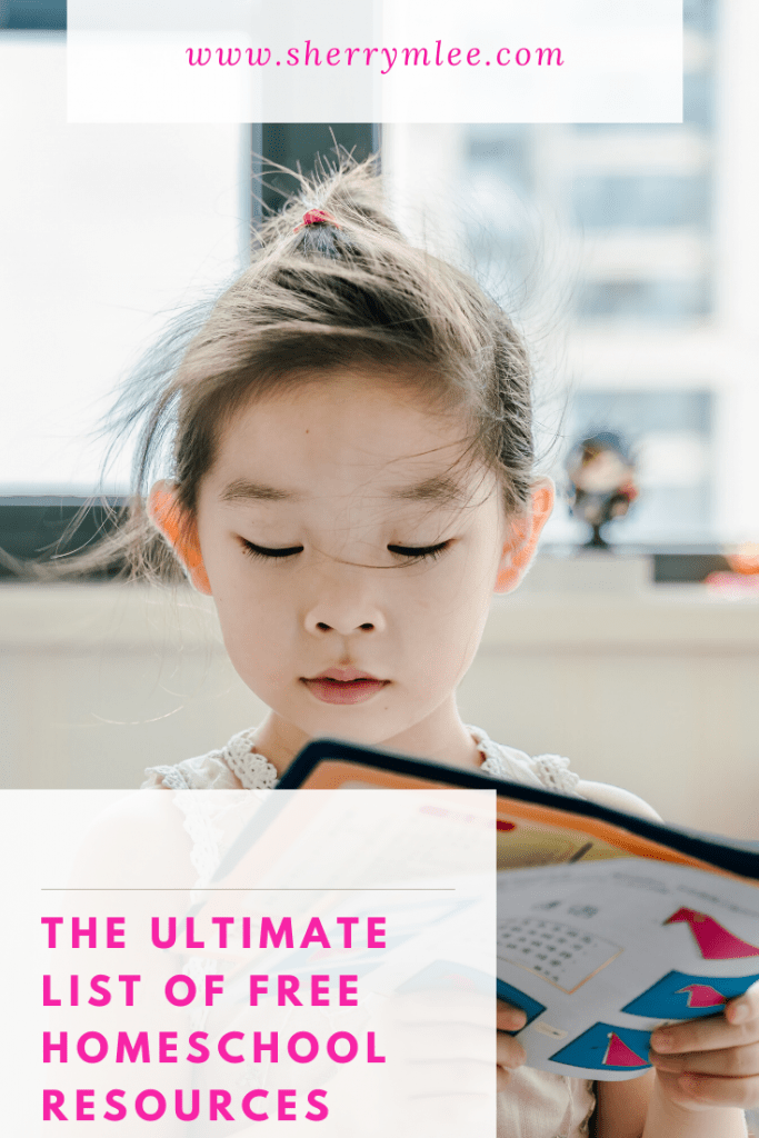 The Ultimate List of Free Homeschool Resources; free homeschooling resources; free homeschool curriculum; homeschool help; homeschooling ideas; homeschooling for free; homeschooling by grade; Spanish homeschool curriculum; French homeschool curriculum;  #homeschooling #homeschoolingmadeeasy