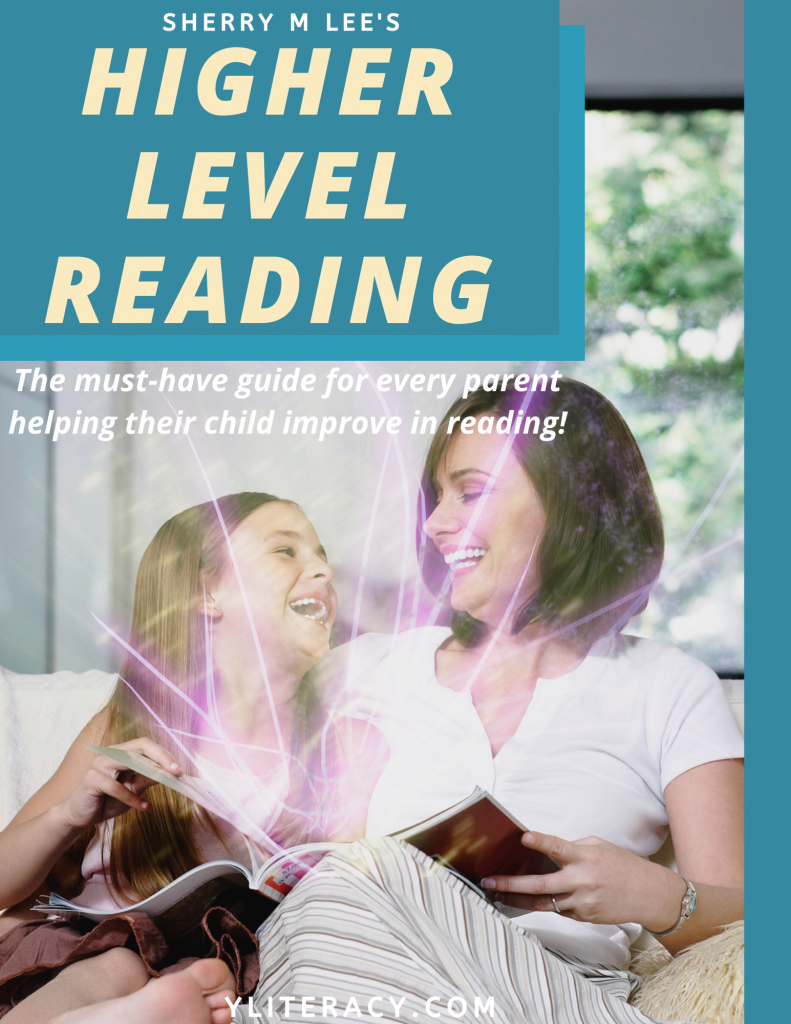 Sherry M Lee's Higher Level Reading; how to help my child read better; reading help for kids struggling readers; reading disabilities struggling readers; reading disability strategies